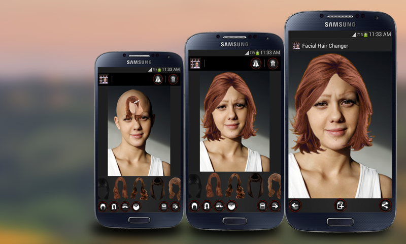 Face Hair Changer MenWomen APK Download Android - Photo hairstyle changer download