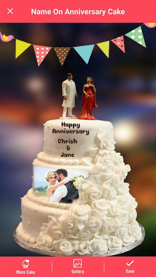 Anniversary Cake Image With Name And Photo Simplexpict1st Org