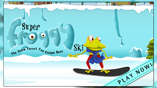 Super Froggy Ski : Snow Fun + 1.0 screenshot 6