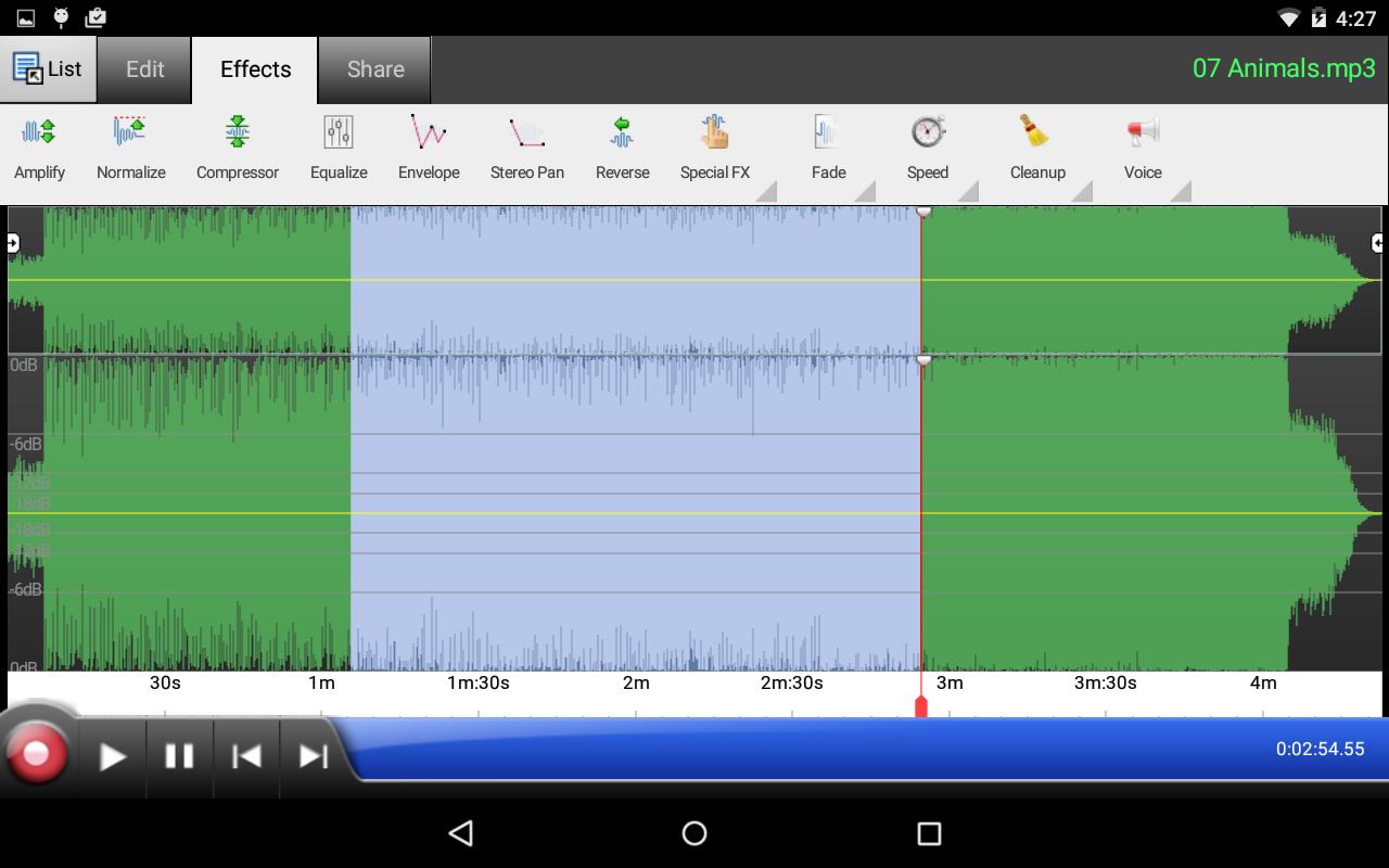 Screen Recorder V Recorder - Audio, Video Editor for ...