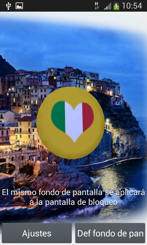 ... Italy 3D Live Wallpaper 1.0 screenshot 3 ...