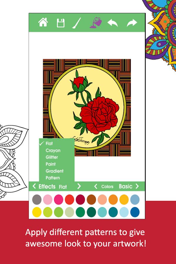 Adult Coloring BookPigment Screenshot 3
