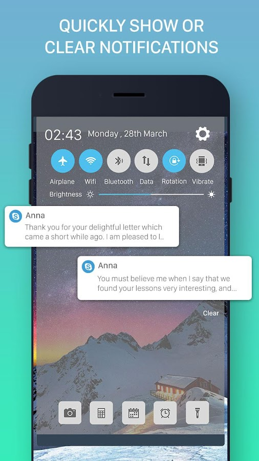 iNoty – Notification OS 1 0 APK Download - Android