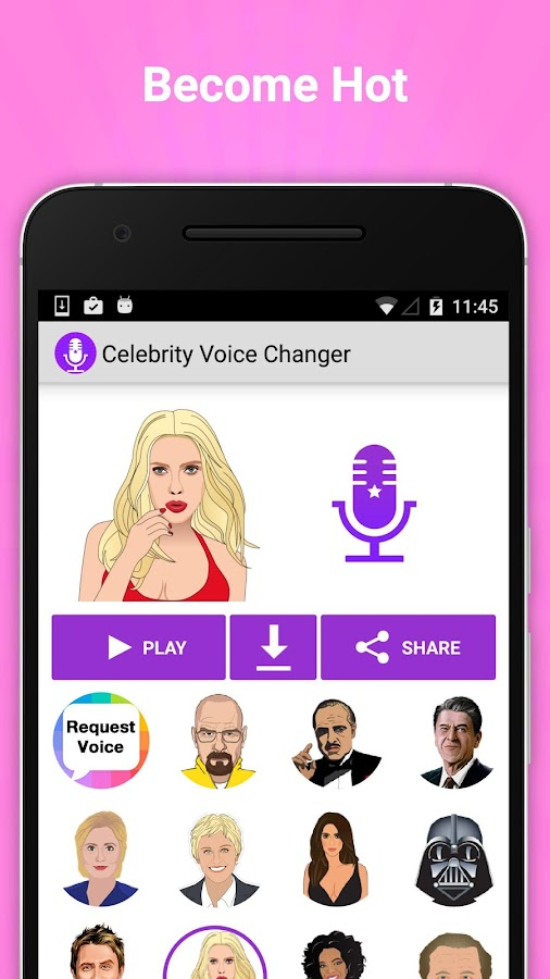 Celebrity Voice Changer Lite - Apps on Google Play