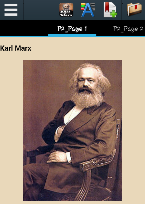 a biography of karl marx and a survey of his career