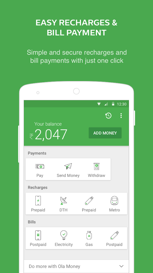 Missing Receipt Form Ola Money  Wallet Payments  Apk Download  Android Finance Apps How Does Paypal Invoice Work Word with Magento Invoice Template Pdf Ola Money  Wallet Payments  Screenshot   Customized Receipt Book Pdf