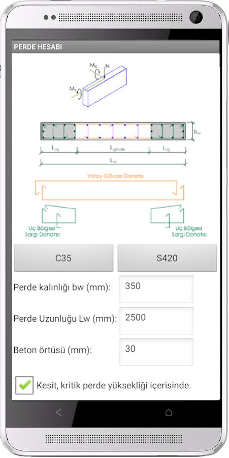 Rc Shear Wall Design App 1 0 Apk Download Android Tools Apps