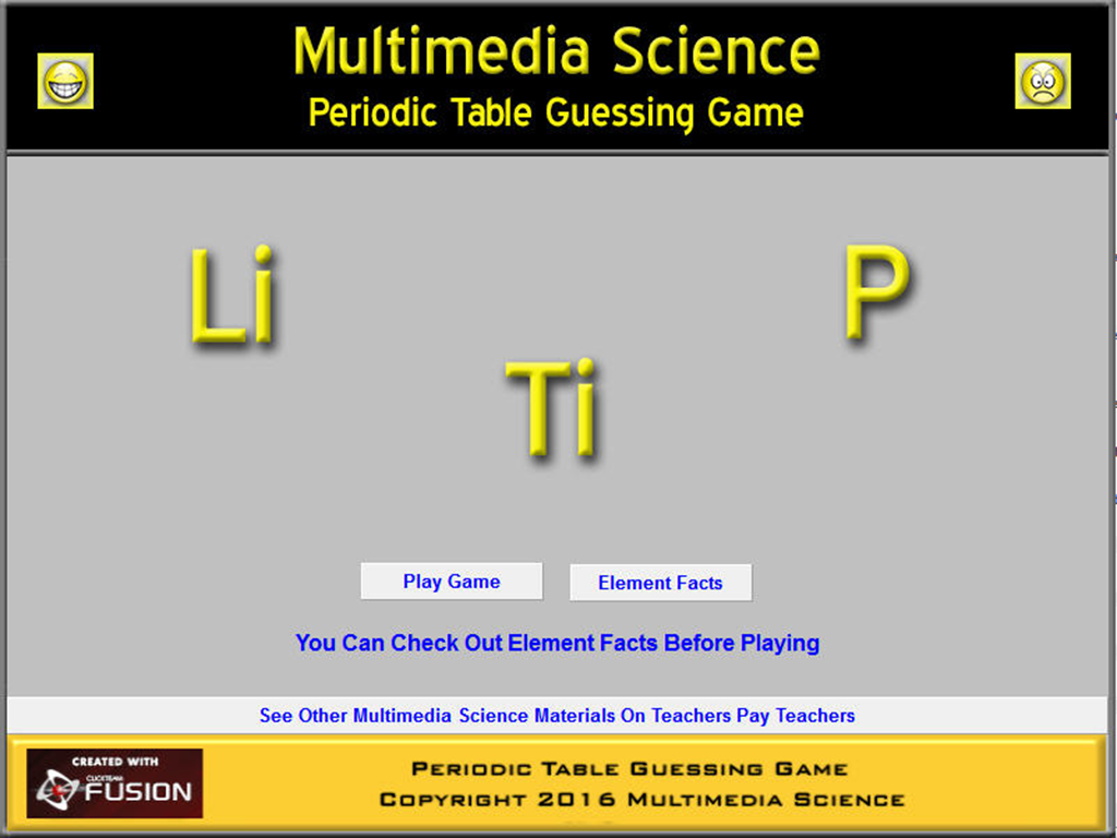 Chemistry periodic table game 3 apk download android educational chemistry periodic table game 3 screenshot 1 urtaz Images