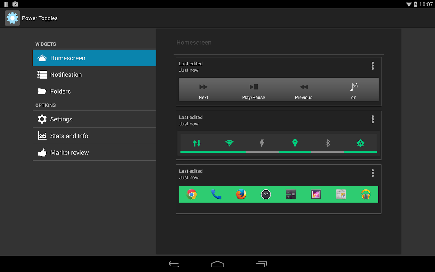 Power Toggles APK Download - Android Tools Apps