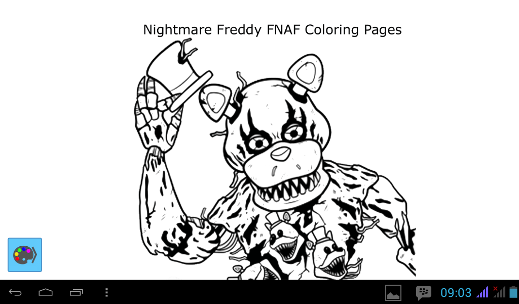 how to draw nightmare freddy 1 1 apk download