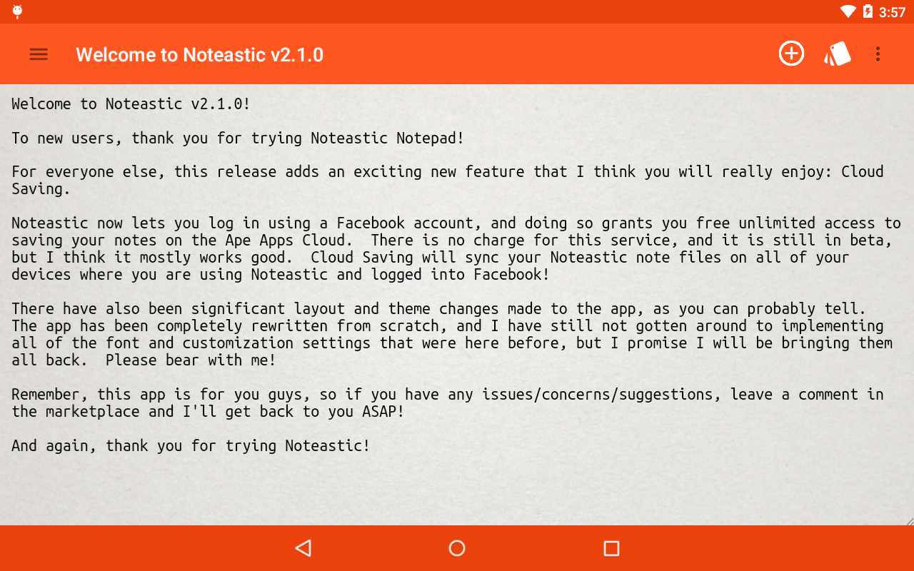 Noteastic Beta 2 2 0 APK Download - Android Productivity Apps