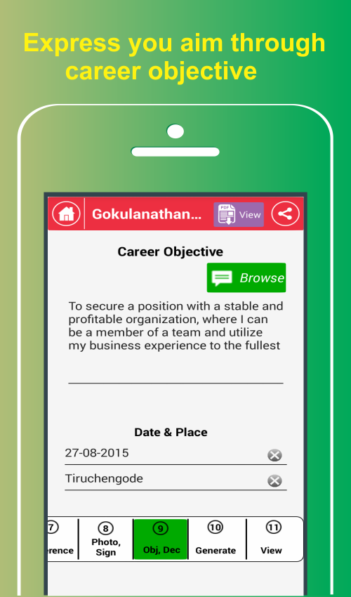 My Resume BuilderCV Free Jobs 49 APK Download Android Business