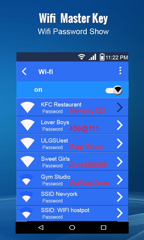 Master Wifi Key 2 3 APK Download - Android Tools التطبيقات