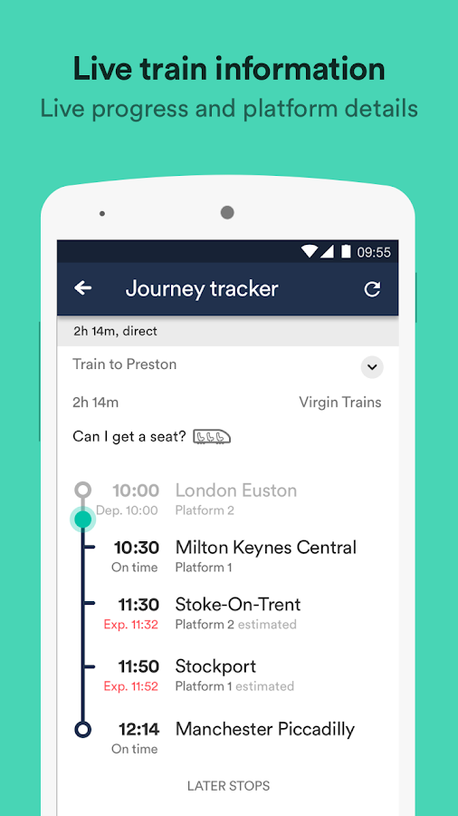 Trainline - UK Times & Tickets APK Download
