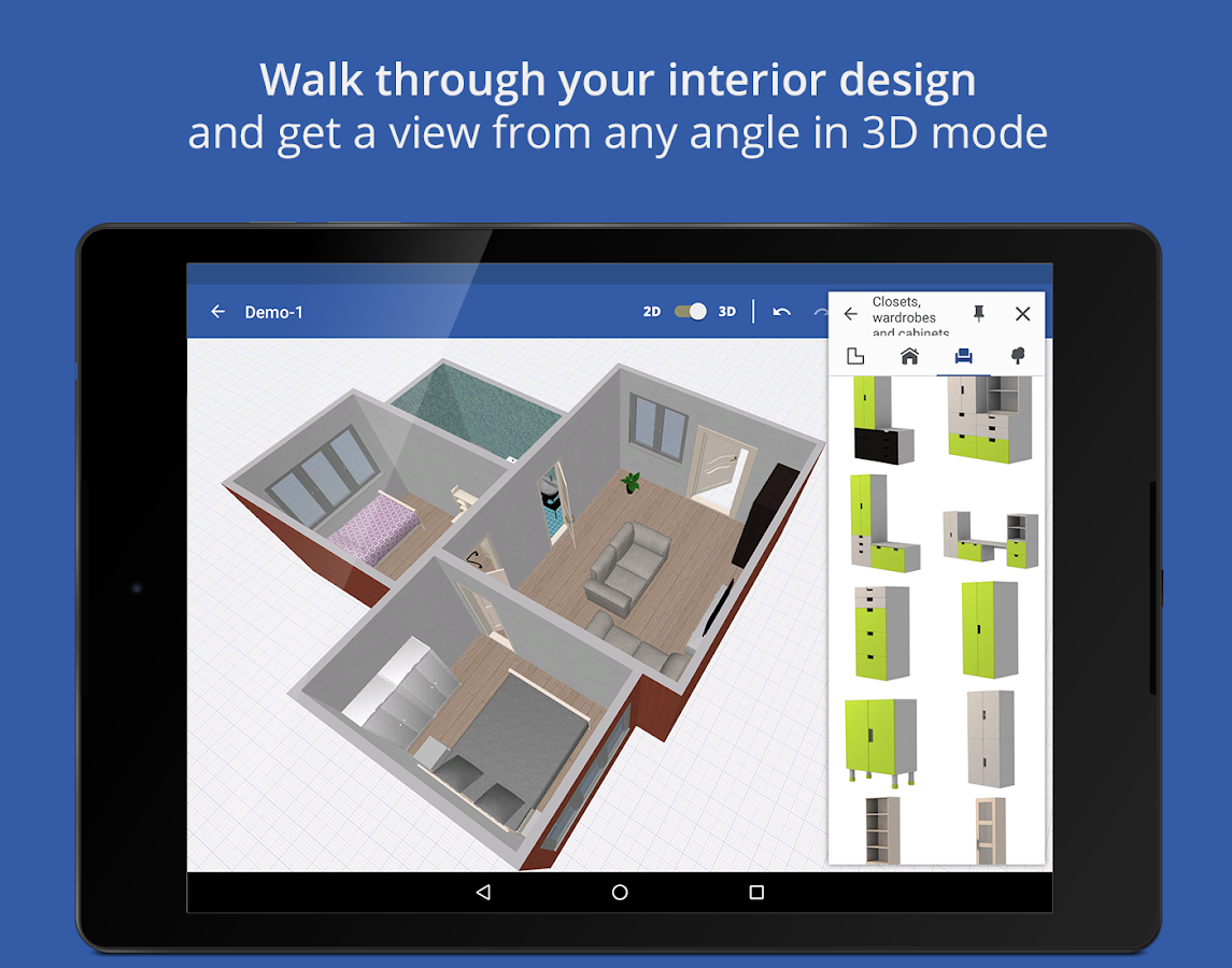 Home planner for ikea 1 6 4 apk download android for Planner casa 3d