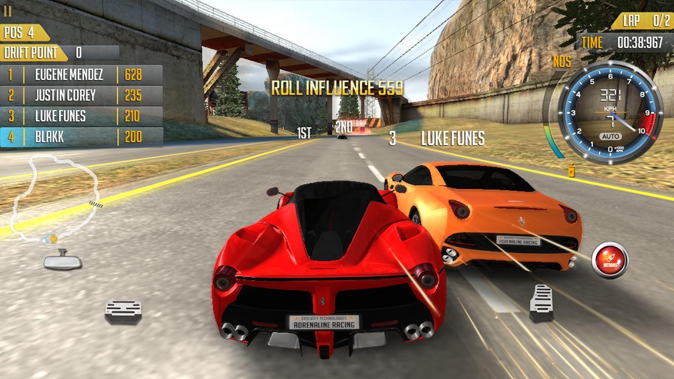 Adrenaline Racing Hypercars Apk Obb Data File Download