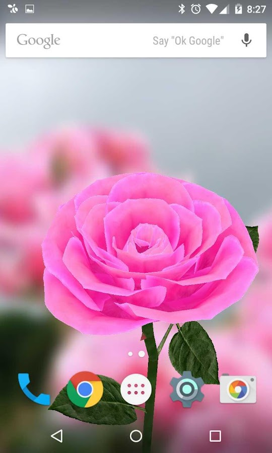 3D Rose Live Wallpaper 4.2 APK Download  Android Personalization Apps