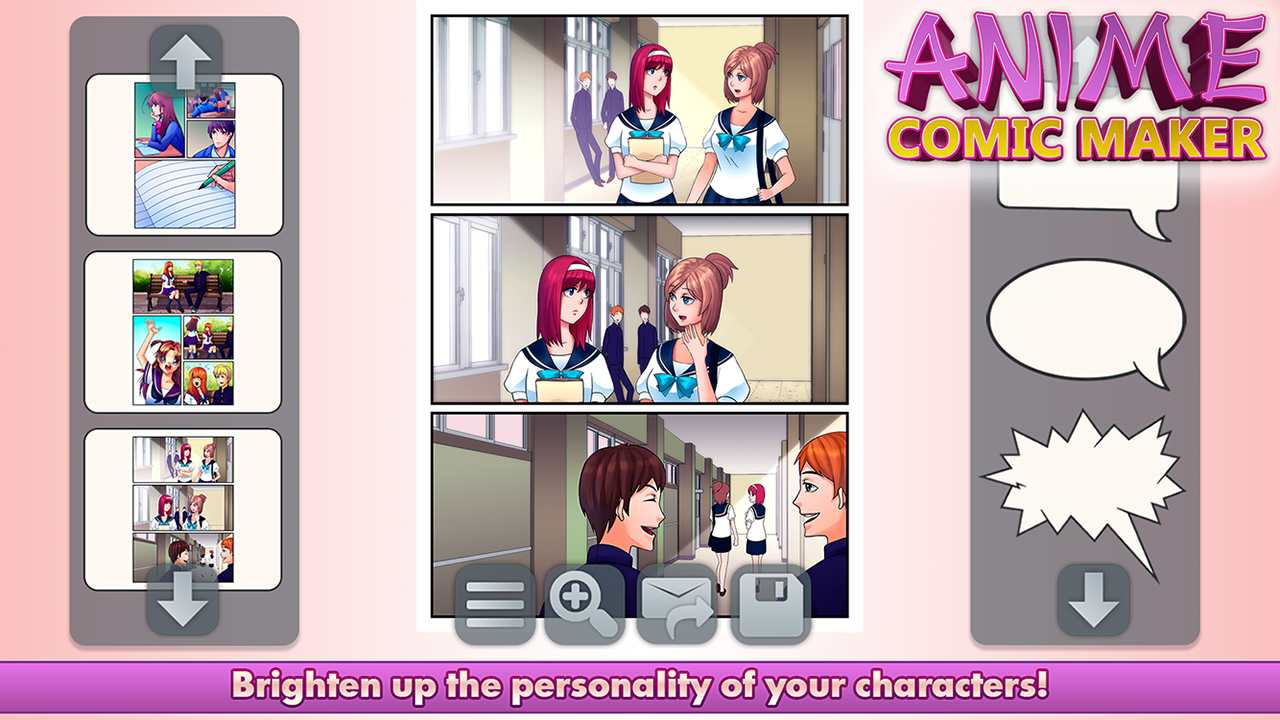 Anime Comic Maker 1 0 Apk Download Android Educational Games