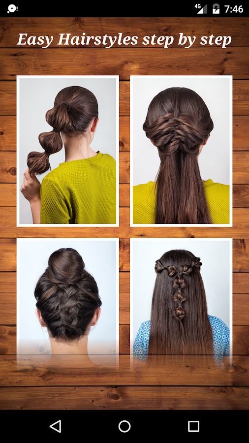 26a947a86 Easy Hairstyles step by step DIY 1.9 APK Download - Android cats ...