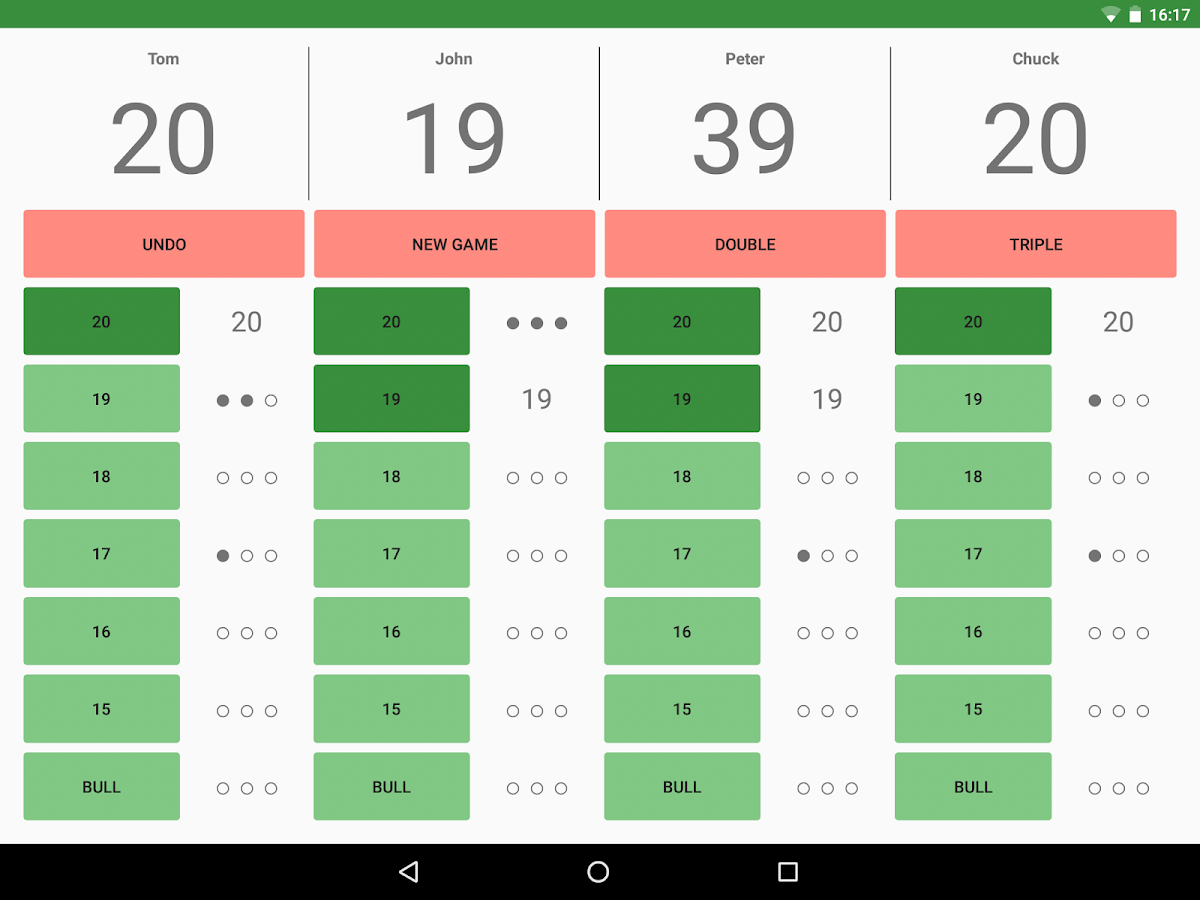 Darts ScoreCard PRO for Android - Free download and ...