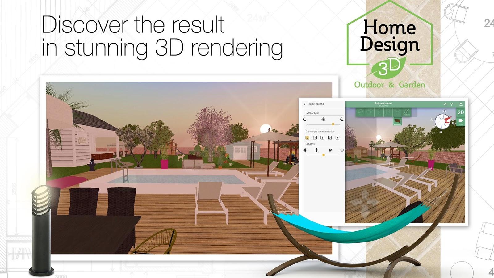 Home Design 3D Outdoor/Garden 4.0.8 APK + OBB (Data File) Download ...