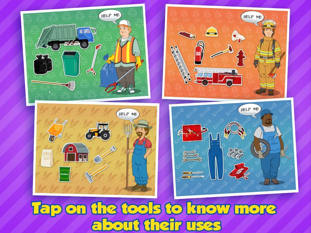 community helpers educational app for kids 1 2 apk download