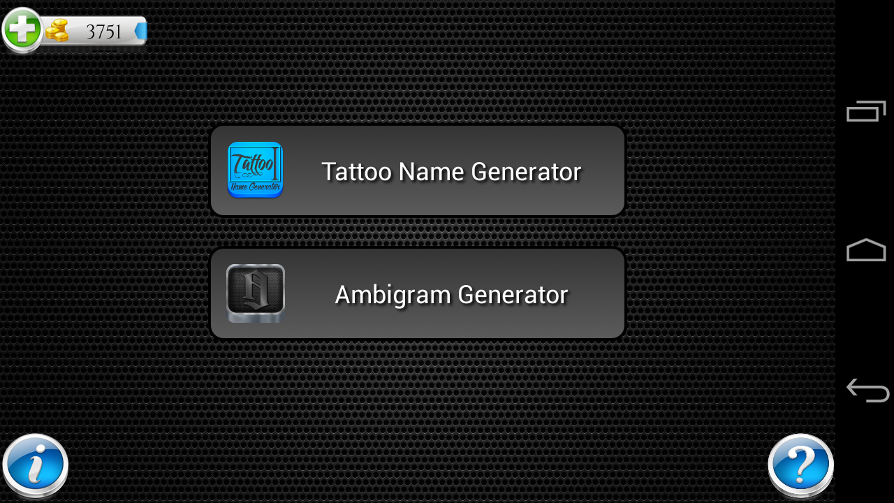 tattoo name design generator apk download android entertainment apps. Black Bedroom Furniture Sets. Home Design Ideas