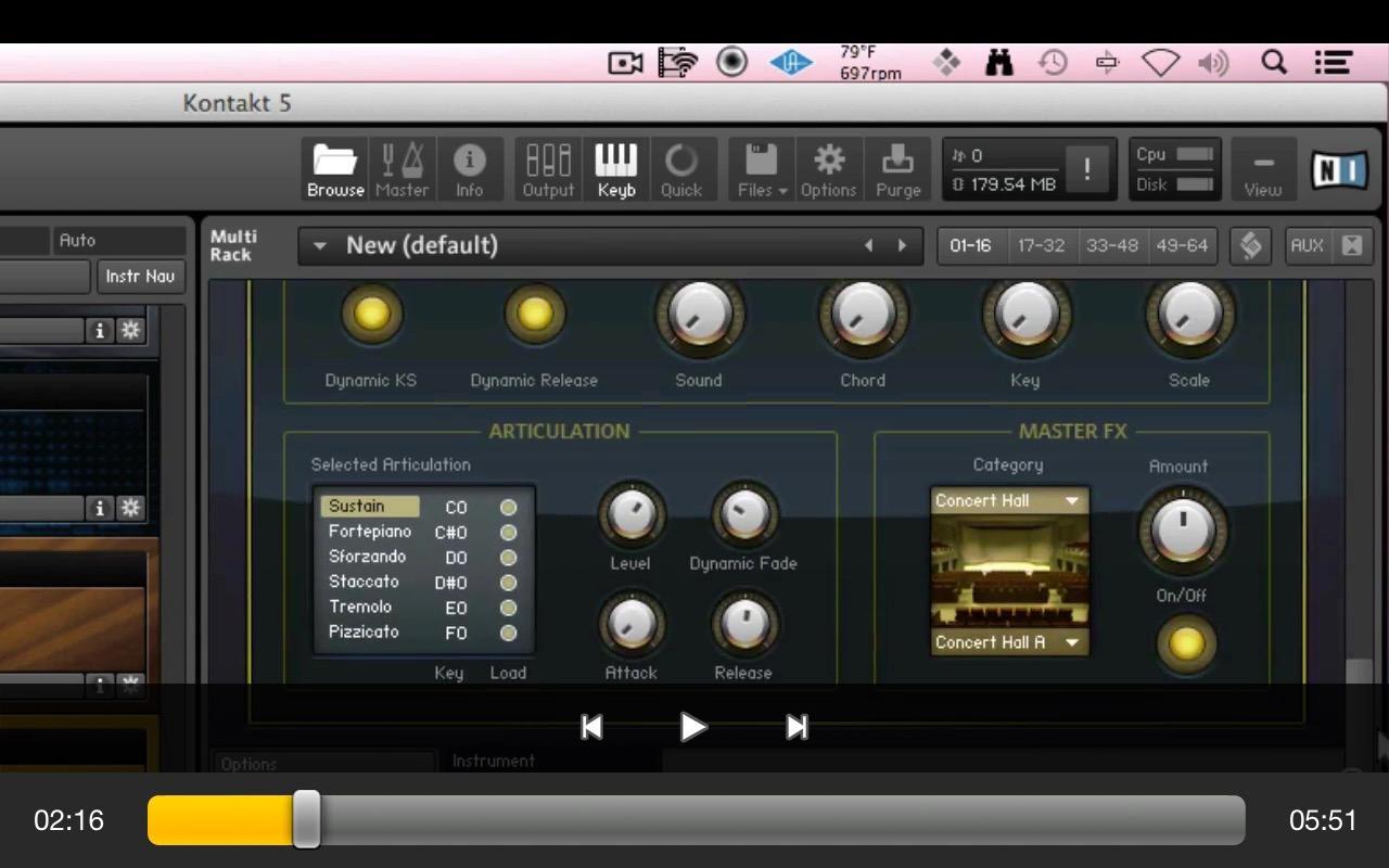 Kontakt 5 manual download -  Advanced Course For Kontakt 5 1 1 Screenshot 3