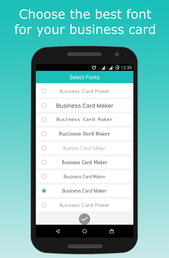 Business Card Maker APK Download Android Business Apps - Business card template app