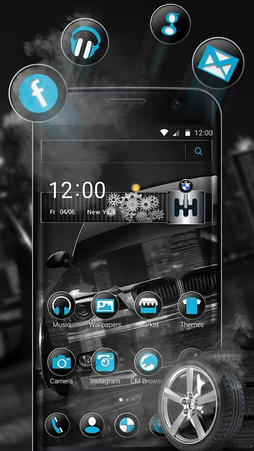 Black BMW Theme 1 1 11 APK Download - Android Personalization Apps
