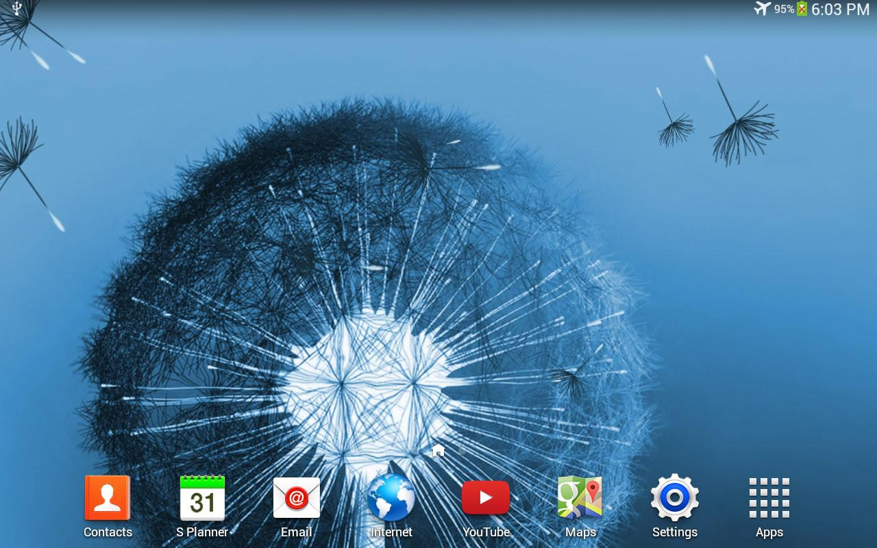Wallpaper downloader app -  Dandelion Live Wallpaper Screenshot 6