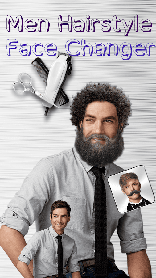 Men Hairstyle Face Changer 2.0 APK Download - Android Lifestyle Apps