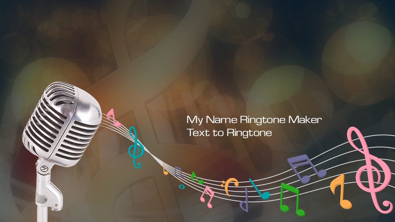 name ringtone maker online with music