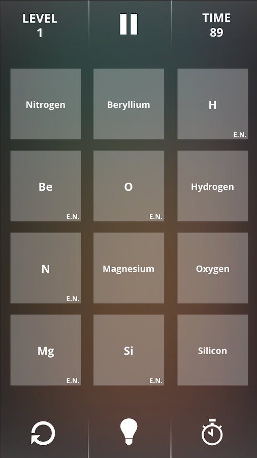 Periodic table game 104 apk download android educational games periodic table game 104 screenshot 10 urtaz Image collections