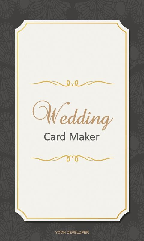 wedding card making online free
