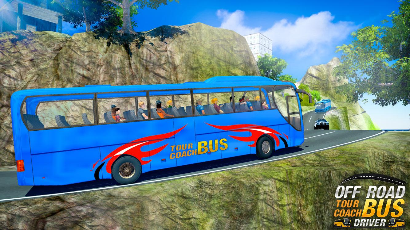 download off road tour coach bus driver mod apk