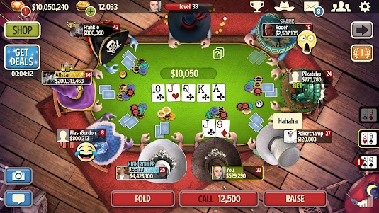 Governor of Poker 3 - Texas Holdem Poker Online 4.5.3 screenshot 1