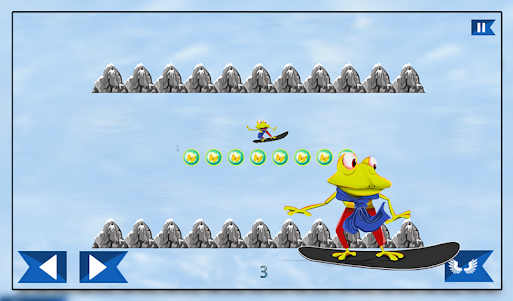 Super Froggy Ski : Snow Fun + 1.0 screenshot 13