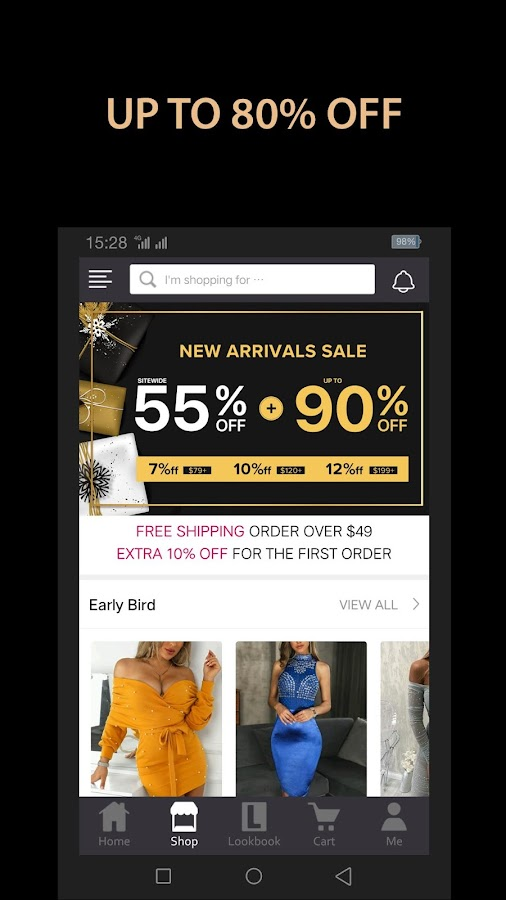 250abbe9ec2 Chic Me - Best Shopping Deals 3.8.66 APK Download - Android Shopping ...