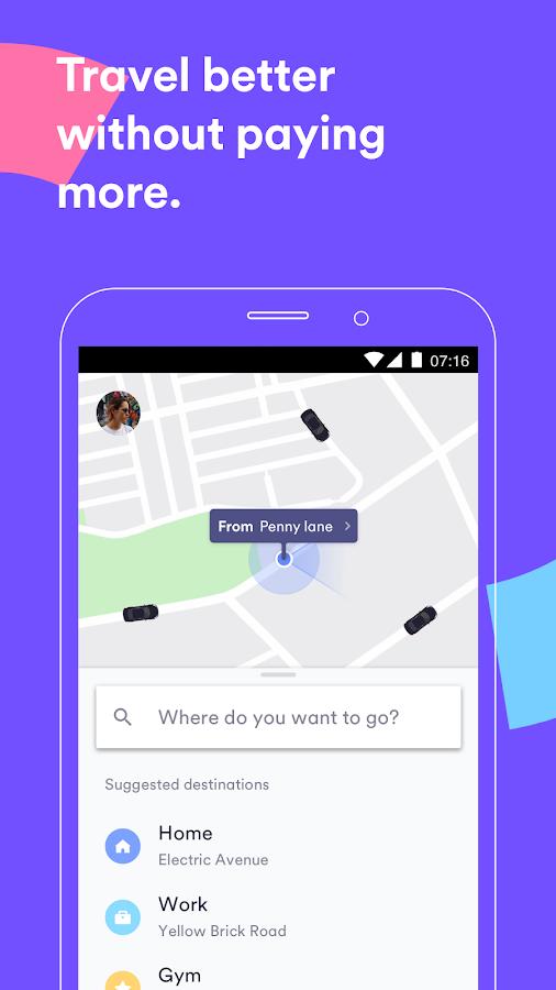 دانلود Cabify APK - برنامه های cats maps_navigation