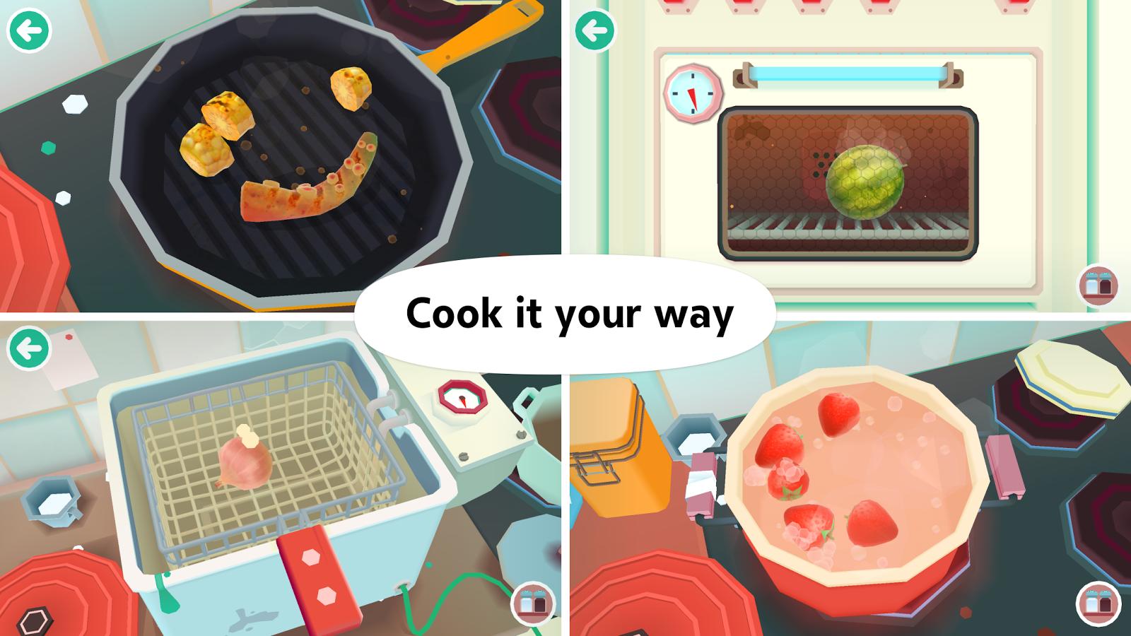 toca kitchen 2 скачать на андроид