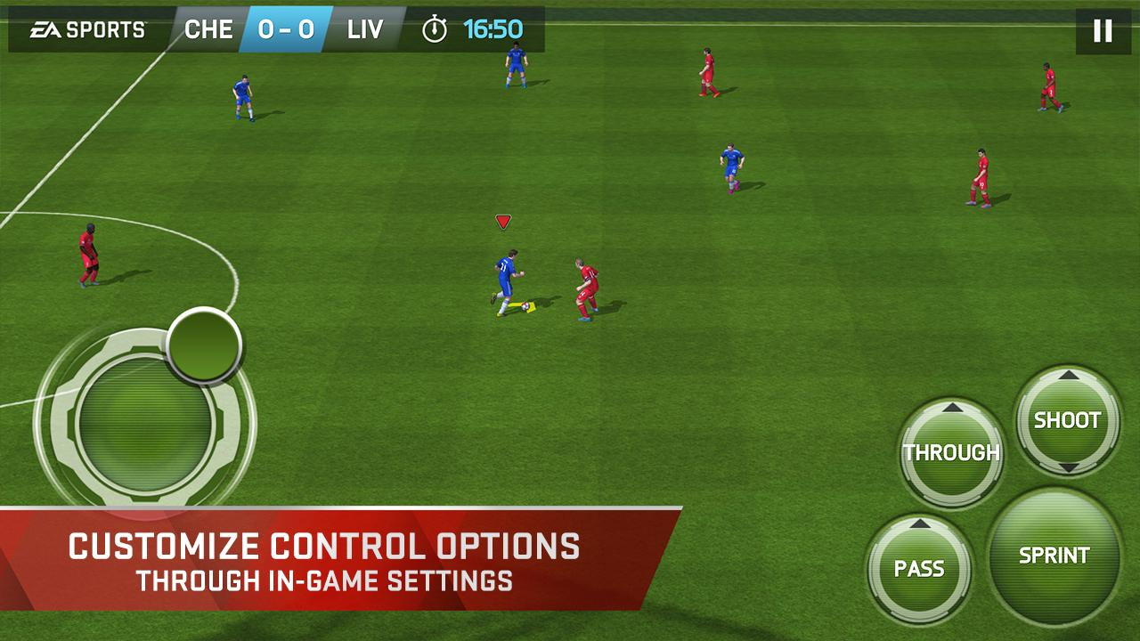 Download best football or soccer games for android in 2014 - Fifa 15 Ultimate Team 1 7 0 Apk Obb Data File Download Android Sports Games