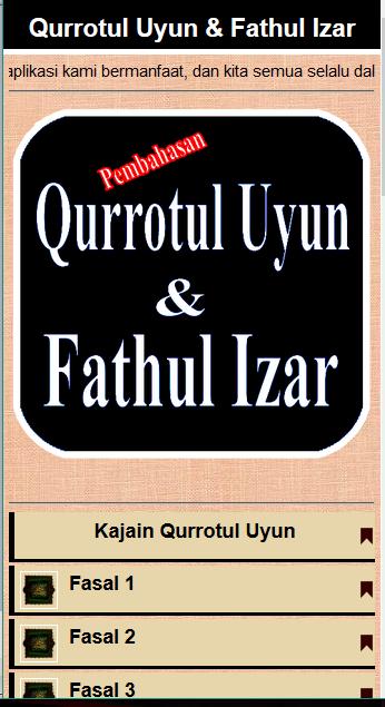 Download Kitab Qurrotul 'Uyun PDF - Galeri Kitab Kuning