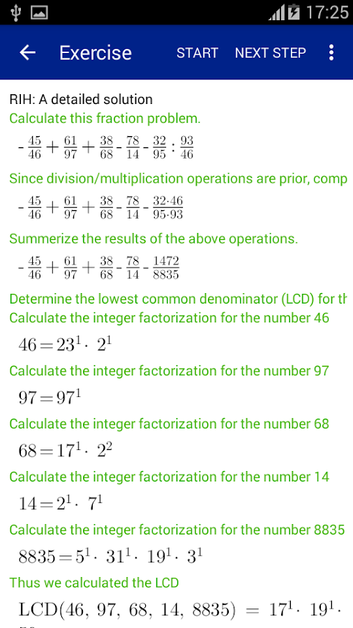 Fraction Calculator, offline 1.8 APK Download - Android Education Apps