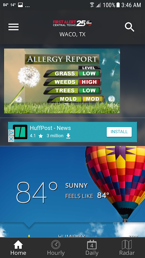 com kxxv android weather 4 8 801 APK Download - Android 天气应用