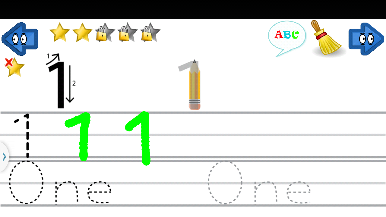 Learn Write Letters Abc 123 148 Screenshot 2