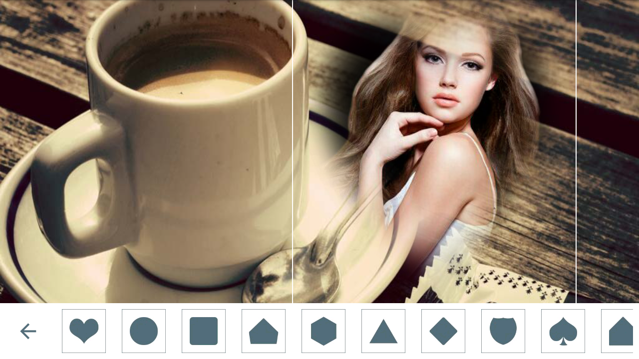 Coffee cup frames - Coffee Mug Photo Frames 2 0 Screenshot 1