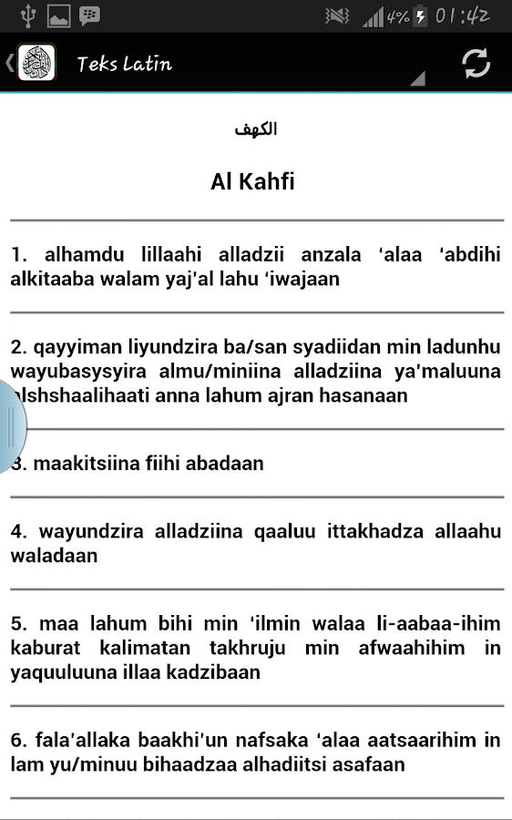 Surah Al Kahf Terjemahan 10 Apk Download Android Boeken