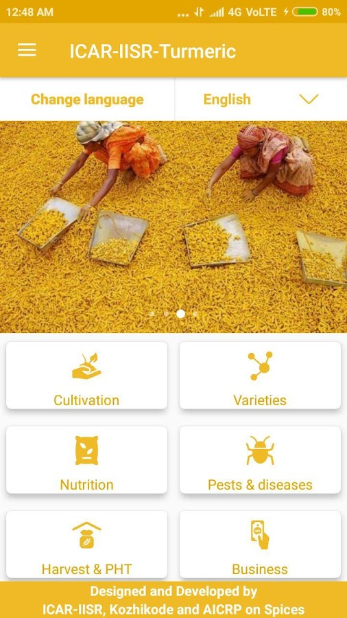 ICAR-IISR Turmeric 1 0 APK Download - Android Education Apps