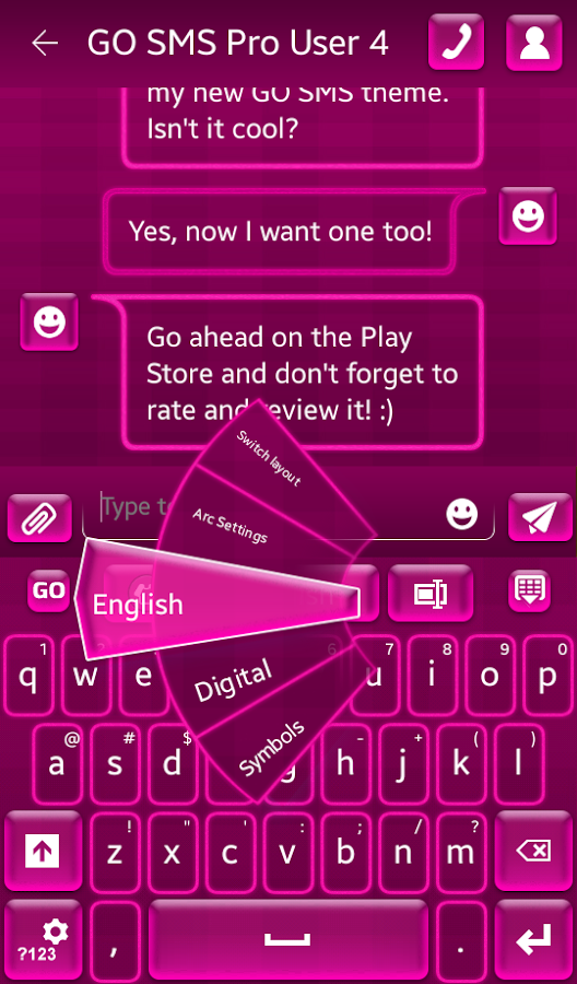 What Colors Go With Hot Pink hot pink keyboard 2.9.5 apk download - android personalization apps